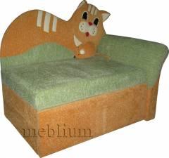 Детский диван Коте-28 Смотрите также в каких тканях наши клиенты заказывают Детский диван Meblium 49-3:   Вариант 1:
