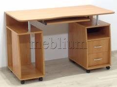 Компьютерный стол Гемера-20 вишня Цвет: вишня