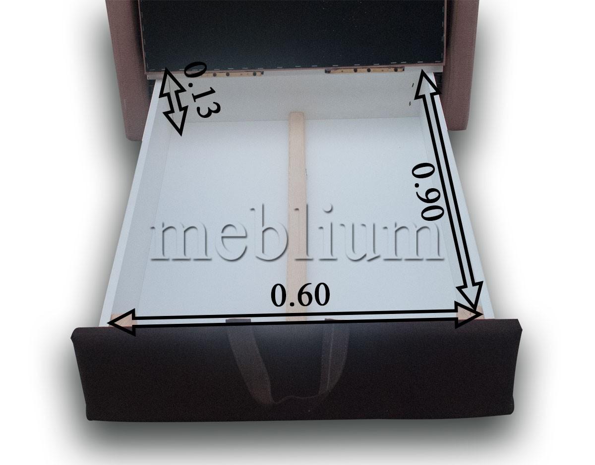 Крісло Лада Софа-47 Тетра бітер + Тетра джинджер Розміри ніши для білизни