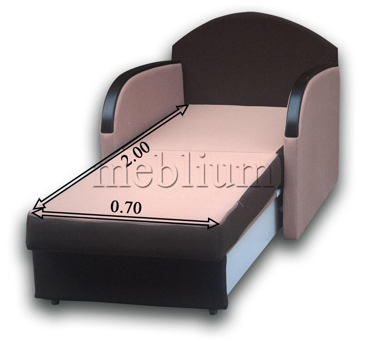 Крісло Лада Софа-47 Тетра бітер + Тетра джинджер Розміри спального місця