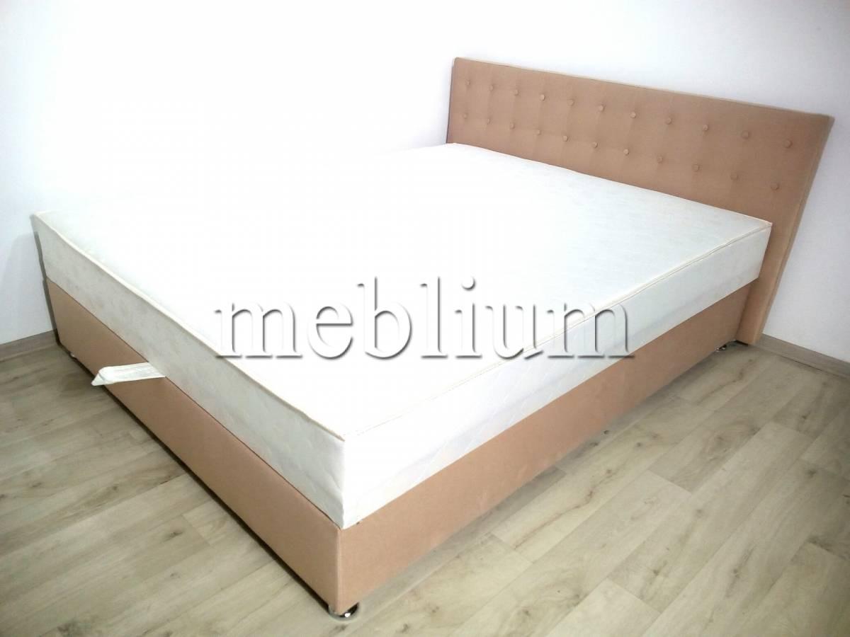 Ліжко з підйомним механізмом Каміла 1,60-12 Тканина: Shaggy_Decert