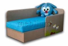 Дитячий диван Смешарик Крош-41 ТАКОЖ ЦЮ МОДЕЛЬ ЗАМОВЛЯЛИ В ТКАНИНI: Смешарик крош лагос