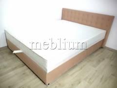 Кровать Камила 1,60 с подъемным механизмом  (+Матрас)  -12 Ткань: Shaggy_Decert