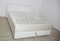 Ліжко з підйомним механізмом Каміла 2 1,60 з матрацем -12 Soft_15  Обивка: кожзам Soft_15