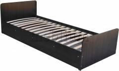Ліжко Соня-10 з матрасом Горіх венге