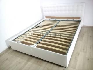 Ліжко з підйомним механізмом Каміла 2 1,60 з матрацем -12 Soft_15  Обивка: Madrid9200
