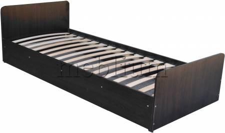 Ліжко Соня-10 з матрасом Горіх