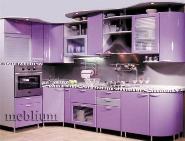 Кухня meblium 22-72. Фасад мдф пленка - от 4000 за 1 м.п. Смотрите, в каком исполнении заказывают у нас кухню meblium 22-72: