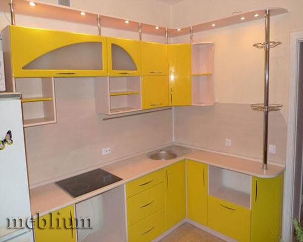 кухня meblium 5-72. Фасад пластик - от 5500 грн. за 1 м.п. Смотрите, в каком исполнении заказывают у нас кухню meblium 5-72:
