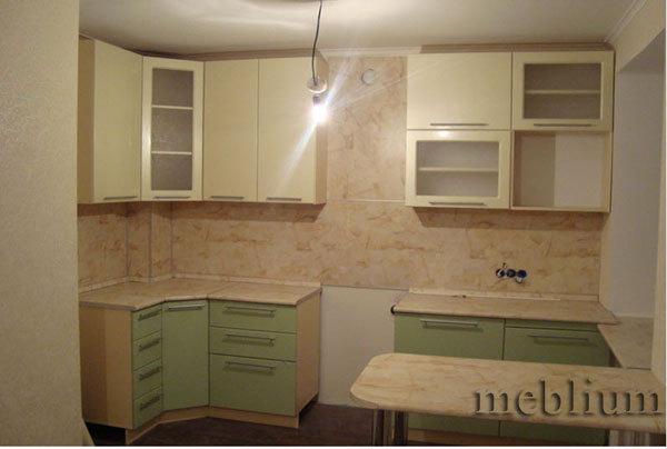 Кухня meblium 14-72. Фасад мдф пленка - от 4000 за 1 м.п. Смотрите в каком исполнении у нас заказывают кухню meblium 14-72.: