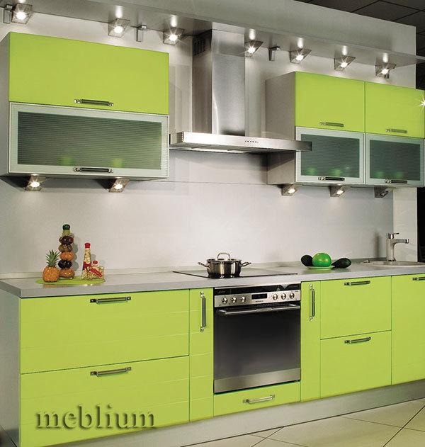 Кухня meblium 14-72. Фасад мдф пленка - от 4000 за 1 м.п.