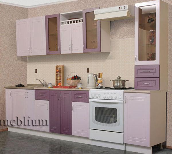 Кухня meblium 21-72. Фасад мдф пленка - от 4000 за 1 м.п. Смотрите, в каком исполнении заказывают у нас кухню meblium 21-72: