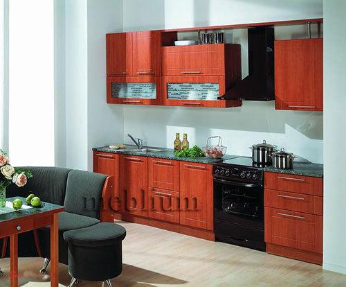 Кухня meblium 45-72:  Фасад мдф пленка - от 4000 за 1 м.п.   Смотрите, в каком исполнении заказывают у нас кухню meblium 45-72: