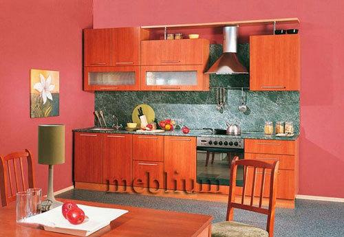 Кухня meblium 45-72:  Фасад мдф пленка - от 4000 за 1 м.п.