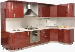 кухня meblium 17-72. Фасад пластик - від 5500 грн. за 1 м.п.