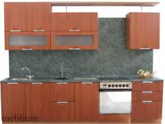 Кухня meblium 45-72.  Фасад мдф плівка - від 4000 за 1 м.п.