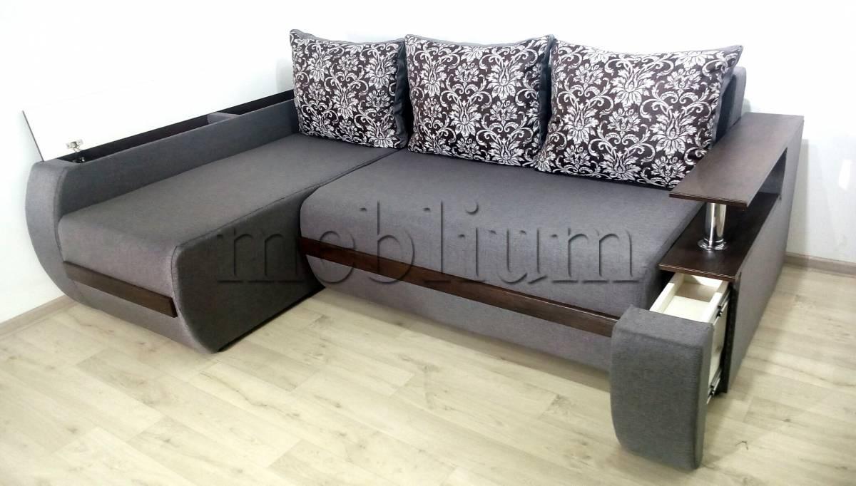 Угловой диван Токио (нишы+бар) -3 Быльце ниша + Быльце бар