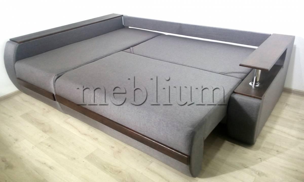 Угловой диван Токио (нишы+бар) -3 Спальное место