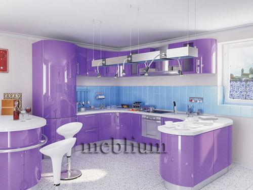 кухня meblium 6-72. Фасад пластик - от 5500 грн. за 1 м.п. Смотрите, в каком исполнении заказывают у нас кухню meblium 6-72: