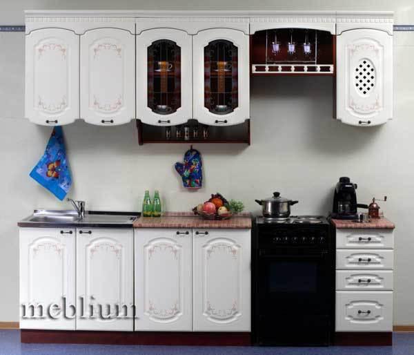 кухня meblium 71-72. МДФ крашенный - от 5500 грн. за 1 м.п. Смотрите, в каком исполнении заказывают у нас кухню meblium 71-72: