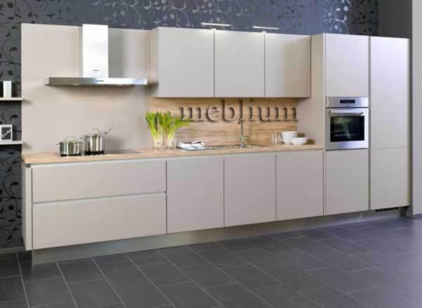 кухня meblium 75-72. Фасад пластик - от 5500 грн. за 1 м.п. Смотрите, в каком исполнении заказывают у нас кухню meblium 75-72: