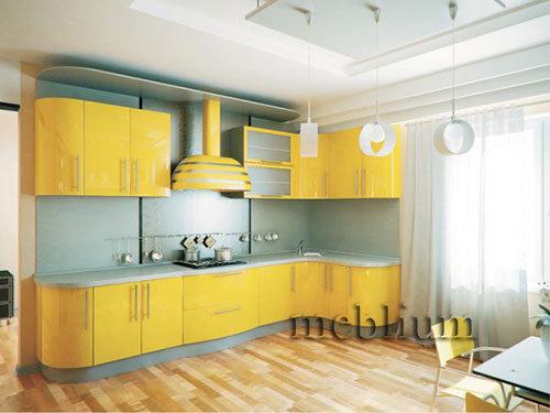 кухня meblium 5-72. Фасад пластик - от 5500 грн. за 1 м.п.