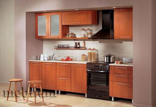 кухня meblium 3-72. Фасад пластик - от 5500 грн. за 1 м.п. Смотрите в каком исполнении у нас заказывают кухню meblium 3-72: