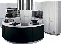 кухня meblium 6-72. Фасад пластик - від 5500 грн. за 1 м.п.