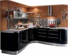 кухня meblium 5-72. Фасад пластик - від 5500 грн. за 1 м.п.