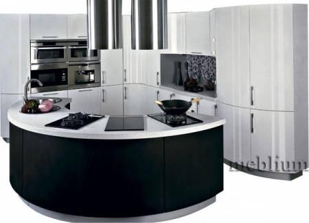 кухня meblium 6-72. Фасад пластик - от 5500 грн. за 1 м.п.
