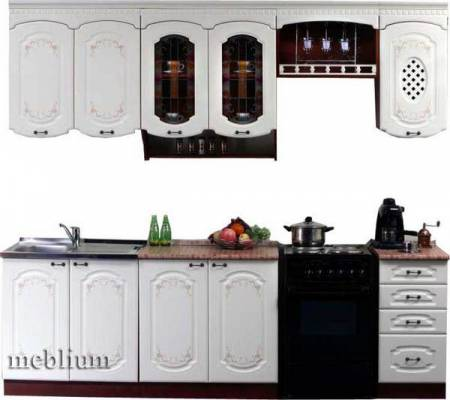 кухня meblium 71-72. МДФ крашенный - от 5500 грн. за 1 м.п.