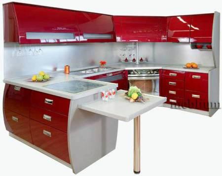 кухня meblium 72-72. Фасад пластик - от 5500 грн. за 1 м.п.