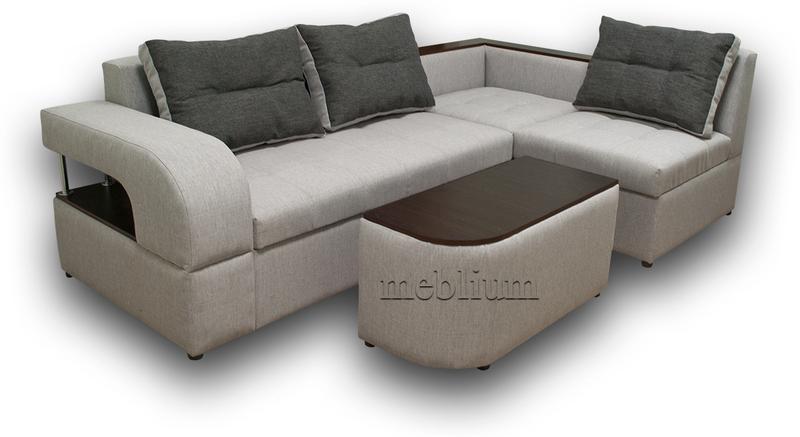 Угловой диван Голливуд -76 ТАКЖЕ ЭТУ МОДЕЛЬ ЗАКАЗЫВАЛИ В ТКАНИ : диван - флэкс 05, подушки -флэкс 06(Аппарель).