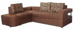 ПРОДАНО (можно под заказ) Угловой диван Лас-Вегас-89 Тетра Вариант обивки: весь диван - Тетра