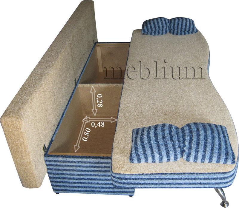 Meblium 2 - 9 Размеры ниши для белья: