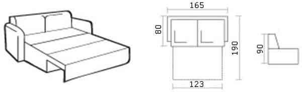 Meblium  22-1 браун P.S. Вы можете заказать в любой другой ткани.