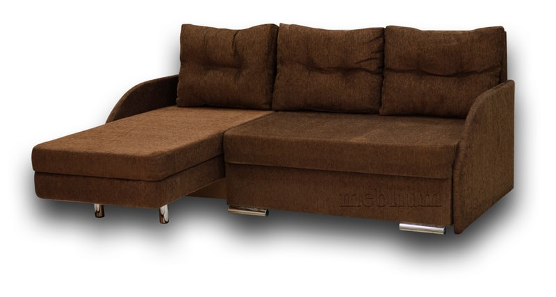 Угловой диван Майа 1.60 (нов) -42 ТАКЖЕ ЭТУ МОДЕЛЬ ЗАКАЗИВАЛИ В ТКАНИ: мега браун (EximTextill).