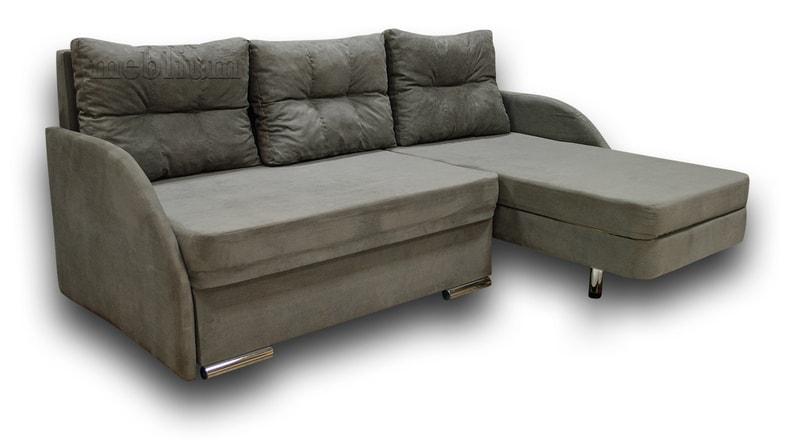 Угловой диван Майа 1.60 (нов) -42 ТАКЖЕ ЭТУ МОДЕЛЬ ЗАКАЗИВАЛИ В ТКАНИ: бонд грей.