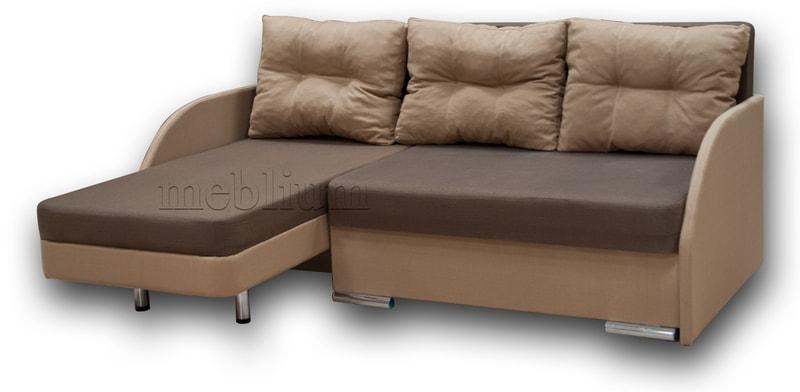 Угловой диван Майа 1.60 (нов) -42 ТАКЖЕ ЭТУ МОДЕЛЬ ЗАКАЗИВАЛИ В ТКАНИ: основа - гига браун, координат - гига беж (EximTextill).
