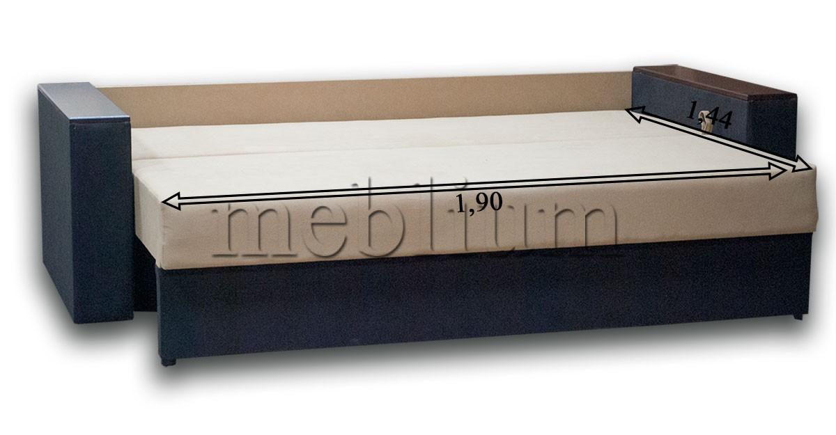 Диван Майстер-89 Іво 25 В розкладеному вигляді