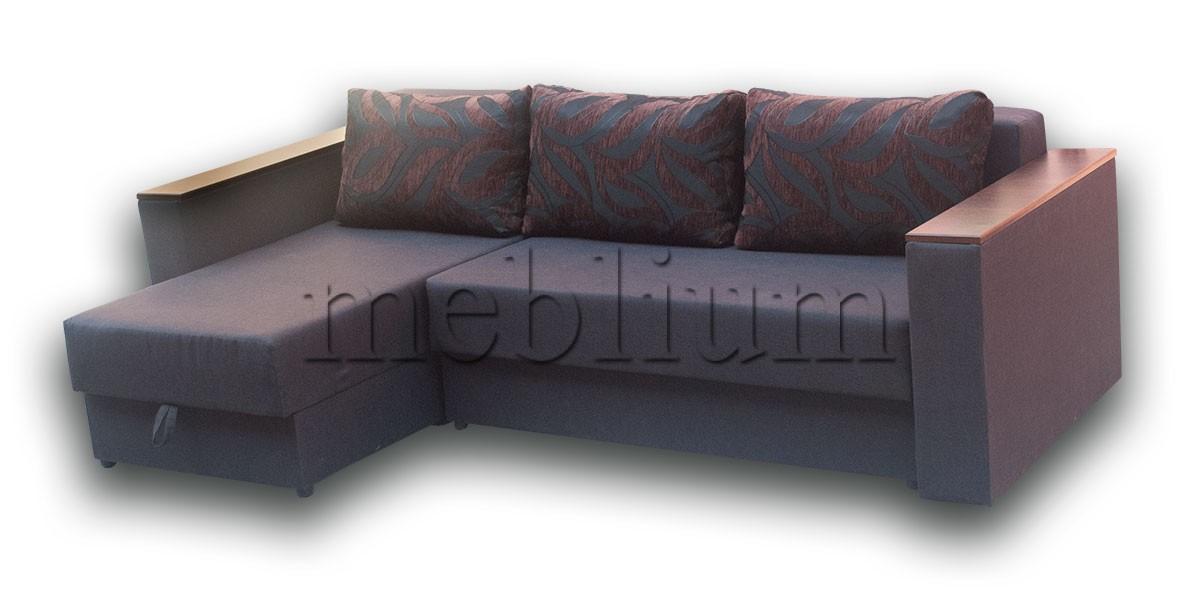 Угловой диван Мастер-89 ТАКЖЕ ЭТУ МОДЕЛЬ ЗАКАЗИВАЛИ В ТКАНИ: Весь диван - коричневый