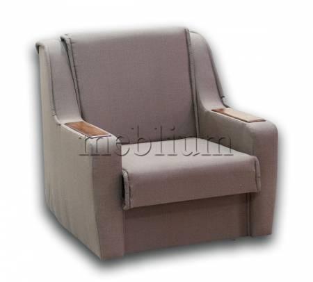 Крісло ЕШ-12 Гіга комб браун