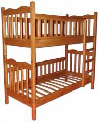 Двух'ярусне ліжко-трансформер Ніка-46