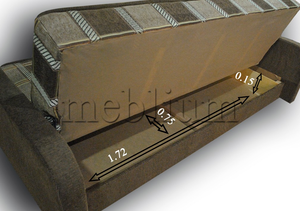 Диван Бонус накладки МДФ -84