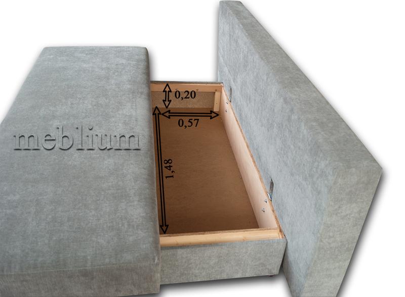 Диван Meblium 30-3 торос Размеры ниши для белья: