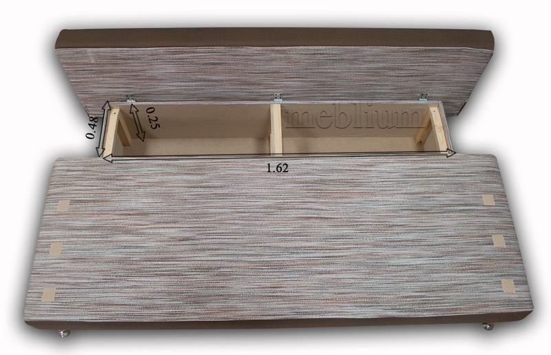 Софа Карина -42 NEW (глубокая ниша для белья) размеры ниши для белья: