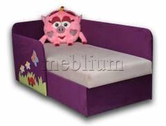 Дитячий диван Смешарик Нюша-41 ТАКОЖ ЦЮ МОДЕЛЬ ЗАМОВЛЯЛИ В ТКАНИНI: Міра 117 + Міра 216