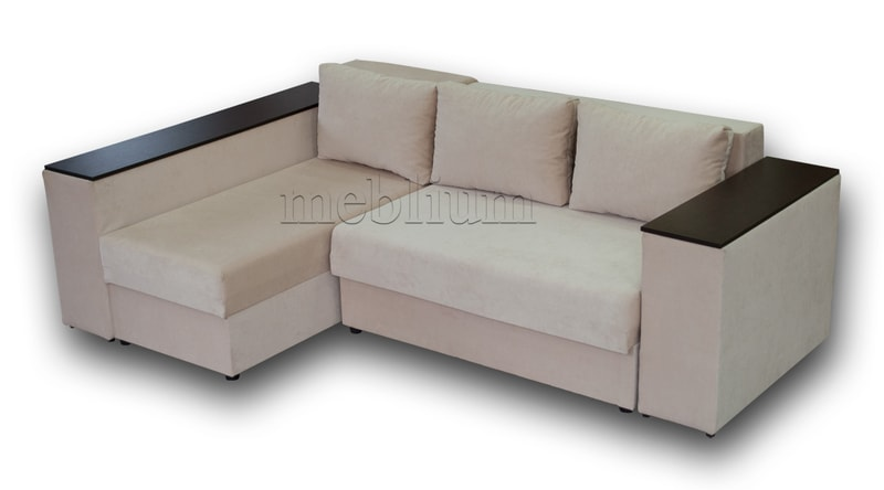 Угловой диван Оксфорд -42 ТАКЖЕ ЭТУ МОДЕЛЬ ЗАКАЗЫВАЛИ В ТКАНИ : диван - кордрой беж (EximTextill).