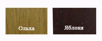 Ліжко Вікторія-60 Можливі різні варіанти кольорового виконання Ліжка (як вони виглядають дивіться на картинці).