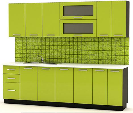 Кухня Гамма-71 Оливковый